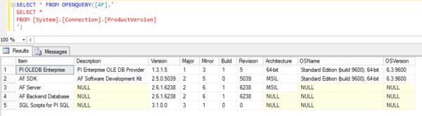 KB01143 - How to configure a linked server with PI OLEDB or PI OLEDB
